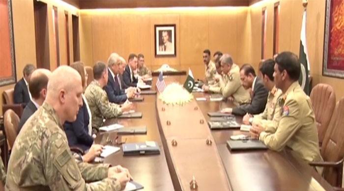 US envoy Khalilzad meets COAS, Afghan peace process discussed