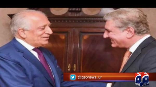 US envoy Khalilzad meets COAS, Afghan peace process discussed