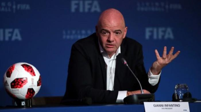 FIFA president says most football associations support 48-team World Cup in Qatar