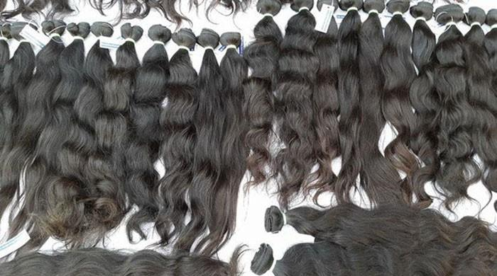 Pakistan exported $1.6 million in human hair during five years