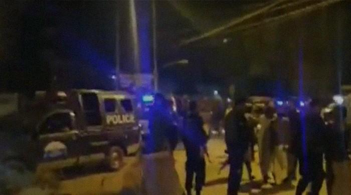 11 arrested, 20 held during Karachi raids