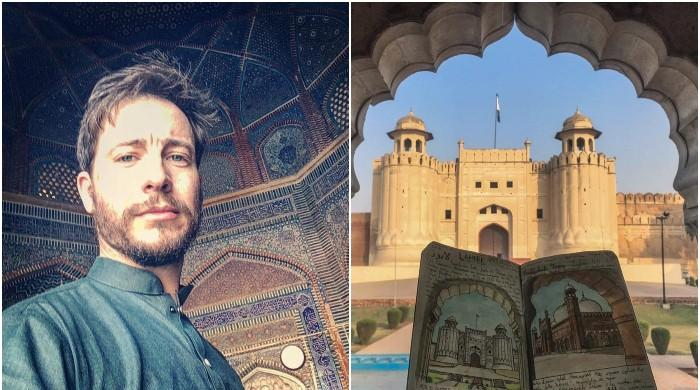 Italian artist talks about Pakistan visit, says 'hopeful of country's new phase'