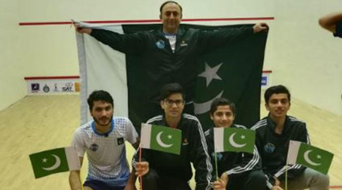 Pakistan beat India to clinch Asian Junior Squash Championship