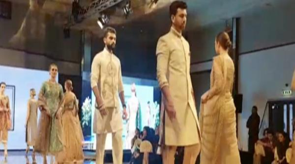 Scotland Pakistan fashion week bedazzles audience