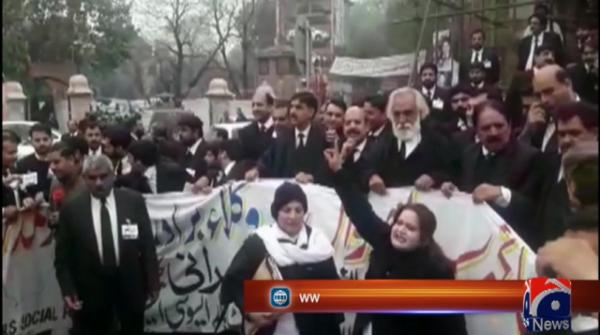 Sahiwal killings: Lawyers, traders protest across Punjab