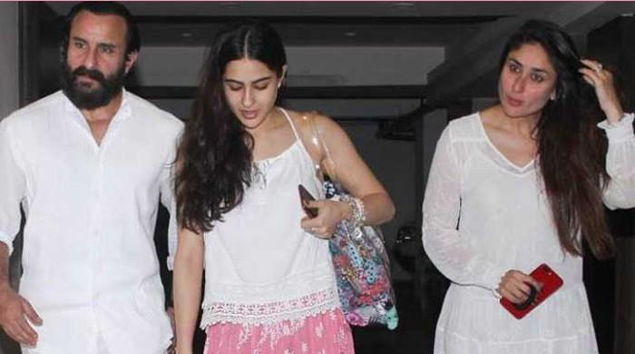 Sara Ali Khan reacts to having Kareena Kapoor as her stepmother