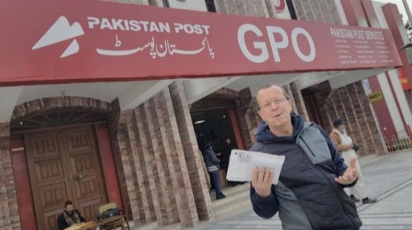 German ambassador hails Pakistan Post service