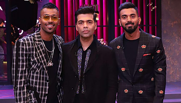 Karan Johar finally speaks up on Pandya-Rahul sexist comments row
