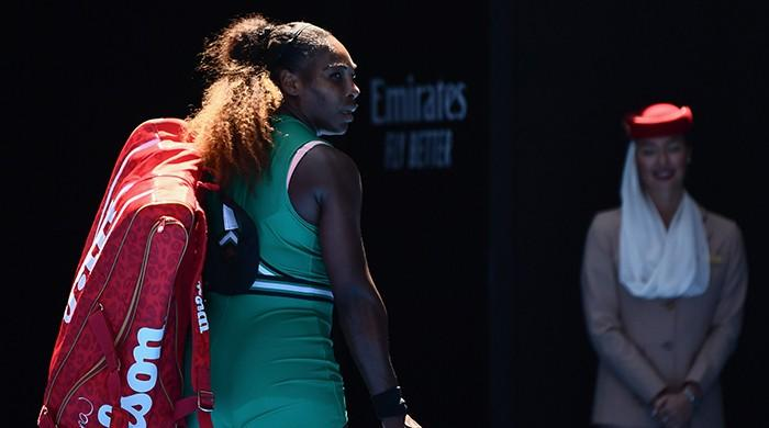 Serena Williams dumped out of Australian Open after sensational collapse