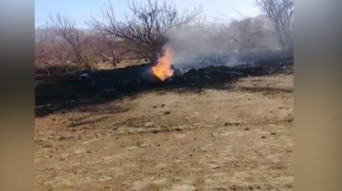 Pilot martyred as PAF jet crashes near Mastung