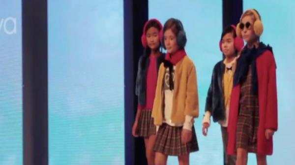 Kids light up the catwalk in fashion show