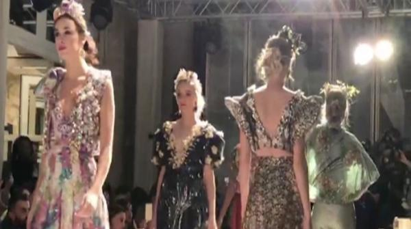 Raishma's couture collection lights up French fashion show