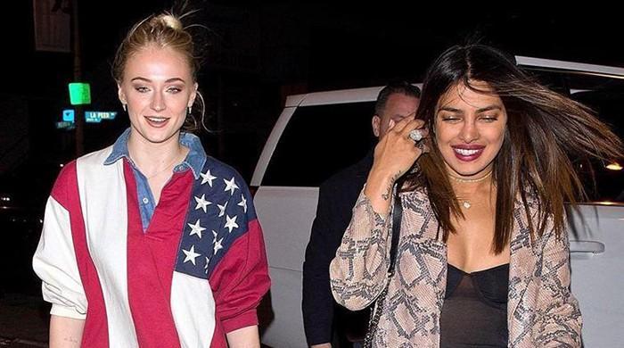 Priyanka Chopra, Sophie Turner enjoy a night out in Los Angeles
