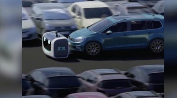 This robot will park your car for you
