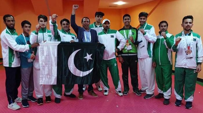Pakistan win two Gold medals in International Taekwondo Championship 2019