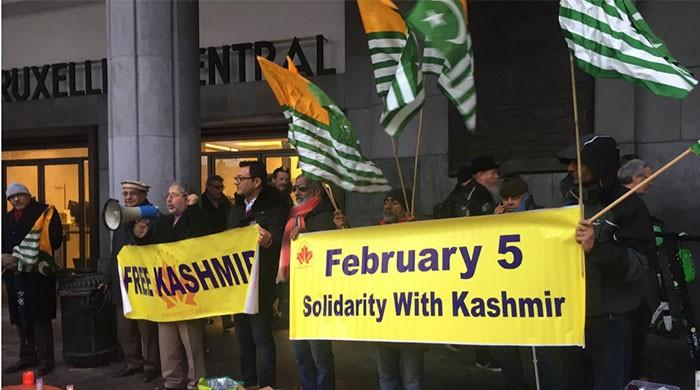Solidarity expressed with Kashmiris in Brussels