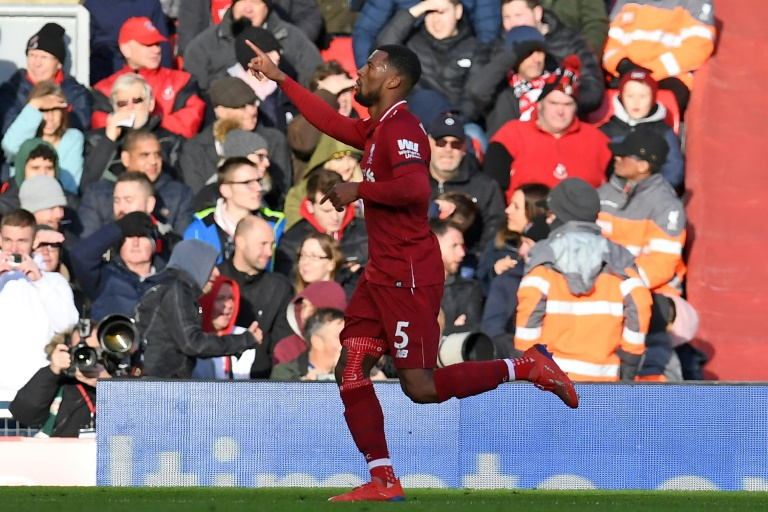 Georginio Wijnaldum reveals extent of his illness before Liverpool victory