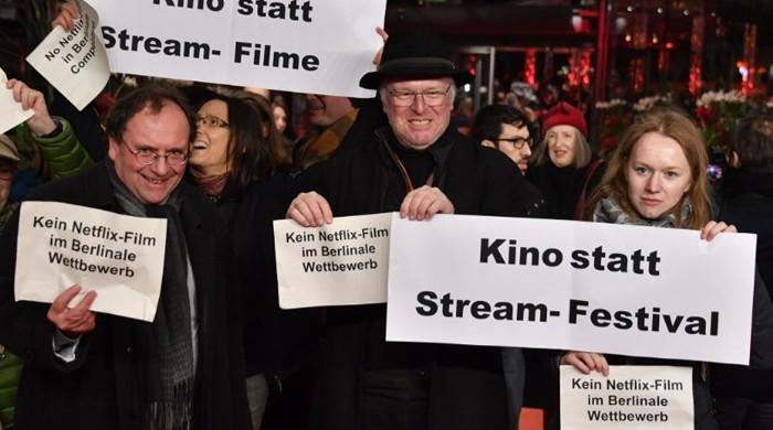 Netflix wars hit Berlin filmfest as 'Elisa and Marcela' premieres