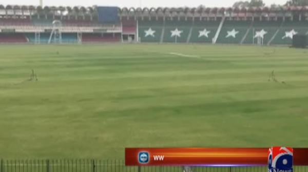 Preparations in full swing at Gaddafi Stadium Lahore