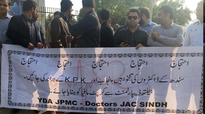 Two children die in Karachi as doctors continue strike for fourth day