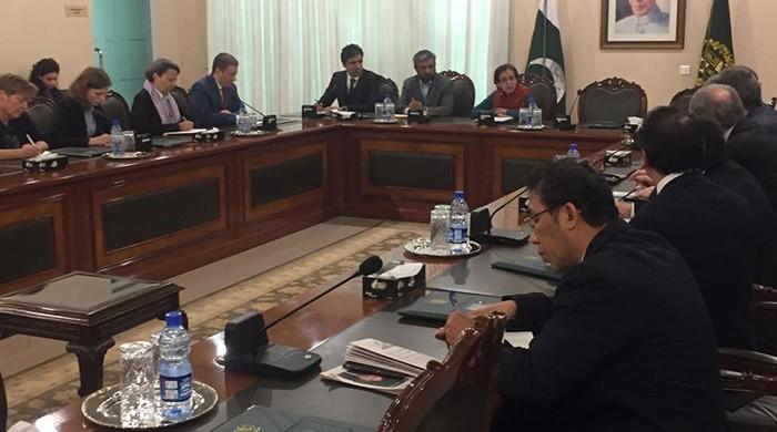 FS Janjua meets EU Ambassadors, rejects Indian govt remarks on Pak involvement in Pulwama