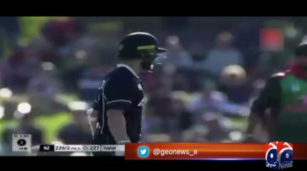 Guptill century secures ODI series for New Zealand over Bangladesh