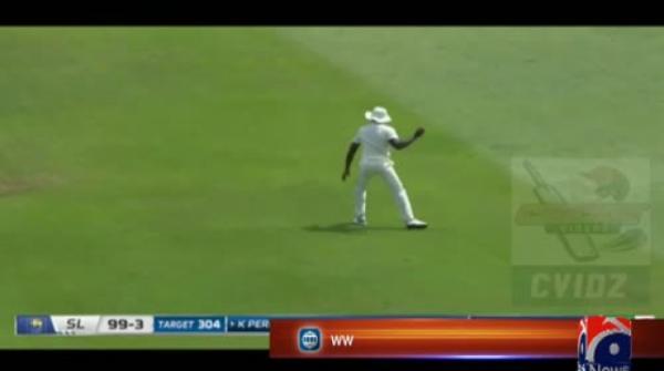 'Just doing my job', says 'superman' Perera after epic Sri Lanka win
