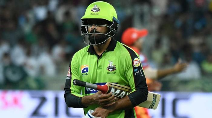 Hafeez ruled out for remainder of PSL