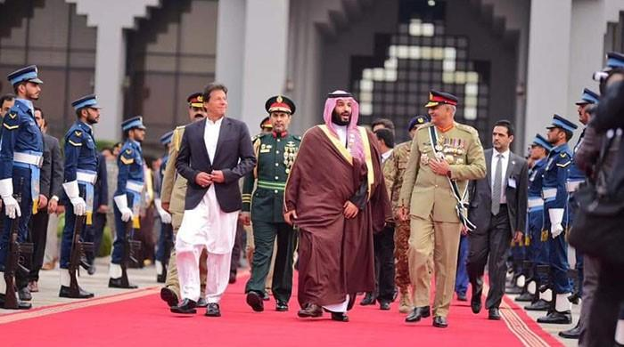 Saudi Crown Prince Mohammed bin Salman departs after successful Pakistan visit