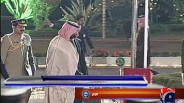 Army chief, Saudi crown prince discuss ongoing defence cooperation