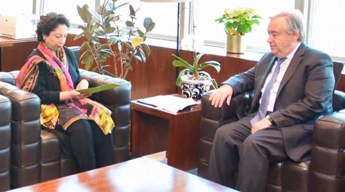 Maleeha Lodhi meets top UN leaders, calls for de-escalation of Pak-India tensions