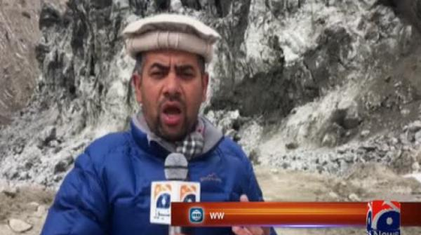 Shisper glacier surge poses threat to Hunza residents