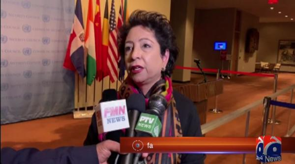Maleeha Lodhi meets top UN leaders, calls for de-escalation of Pak-India tensions