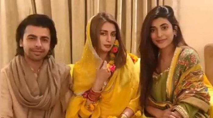 Iman Ali's wedding festivities kick off