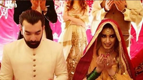 Supermodel Iman Ali ties the knot in Lahore