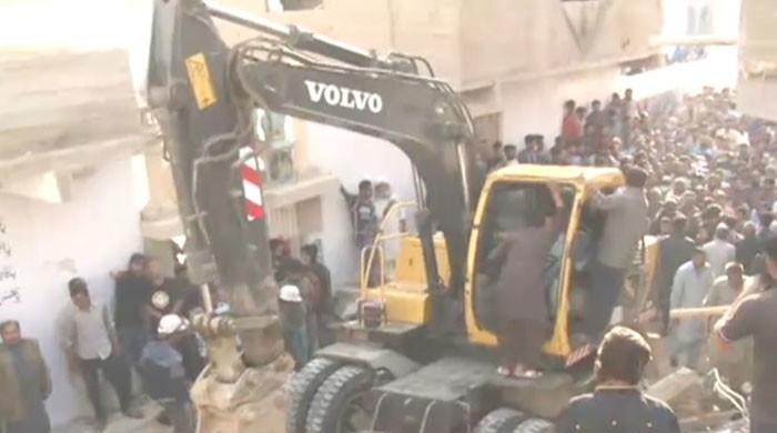 Two dead, multiple injured as residential building in Karachi's Malir collapses