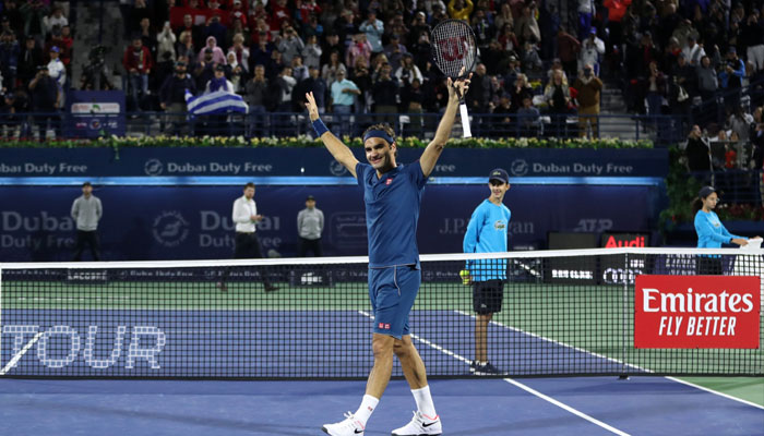Federer wins 'special' 100th title by beating Tsitsipas