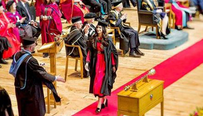 Image result for mawra hocane graduation