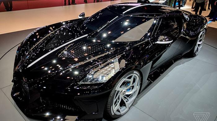 Bugatti's La Voiture Noire is the world's most expensive new car