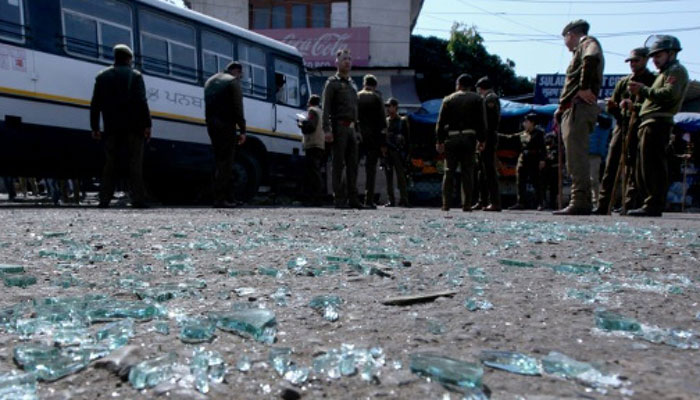 Grenade blast at Jammu's General Bus Stand, one dead, 32 injured