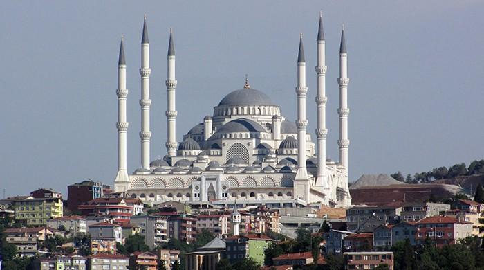 Turkey's largest mosque opens for worship