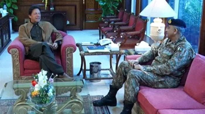 PM Imran, COAS Bajwa discuss security situation