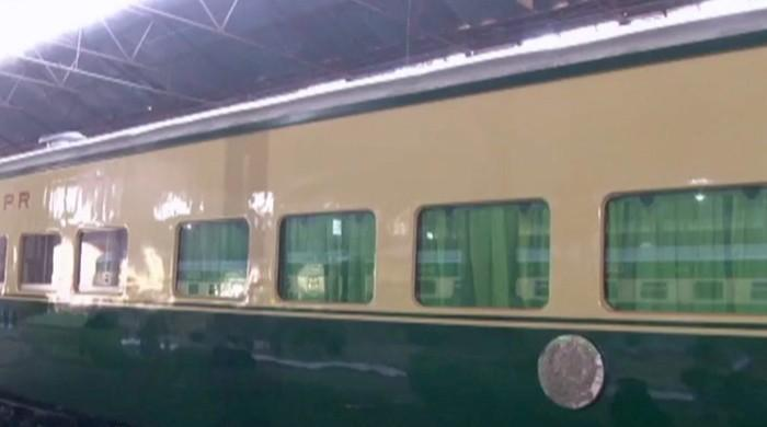 The prime minister's luxury Railways Saloon