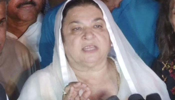 Maryam should pray for Nawaz's health instead of tweeting: Yasmeen Rashid