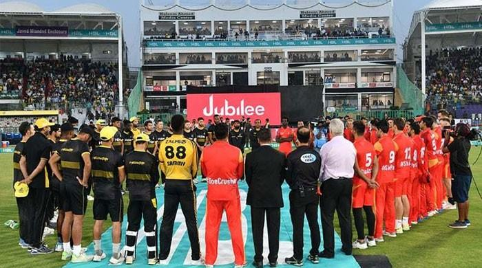 PSL players wear black armbands to protest carnage at Christchurch mosques