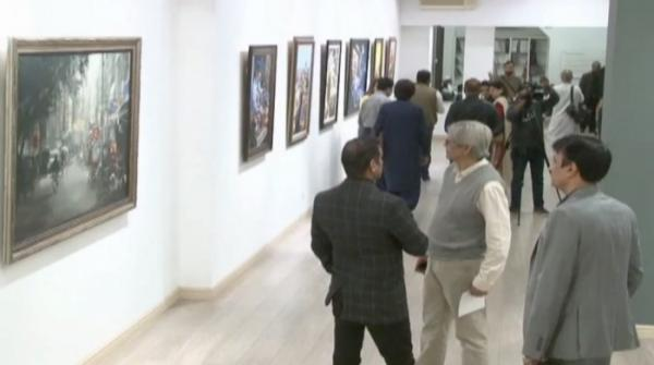 Art exhibition held at Lahore Heritage Museum
