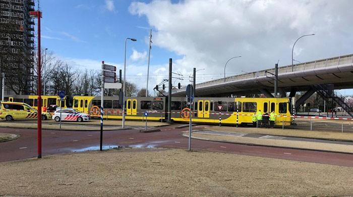 Dutch police hunt for Turkish man after tram shooting