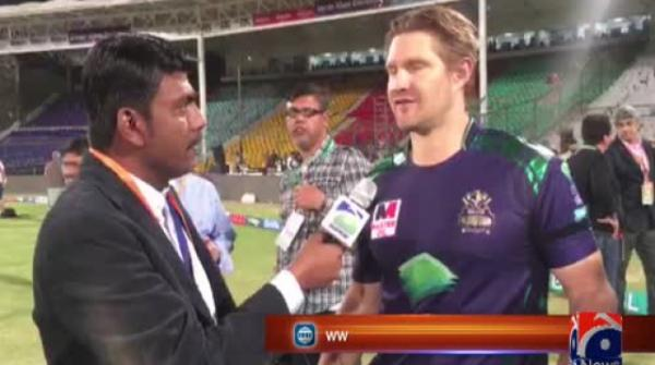 Taking incredible memories with me from Pakistan, says Shane Watson