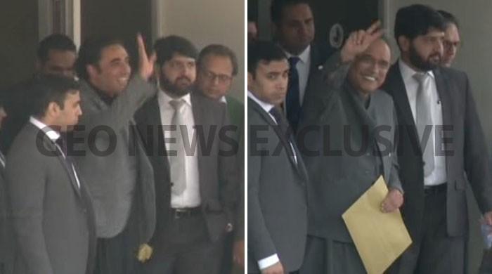 Bilawal, Zardari questioned by NAB in three cases