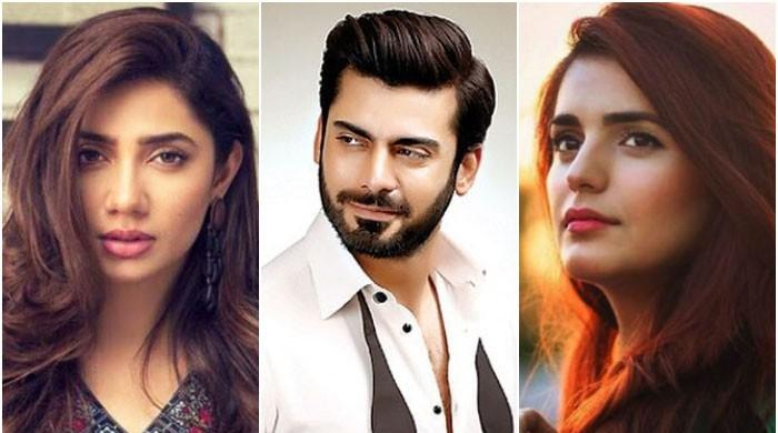Mahira Khan, Fawad Khan and Momina Mustehsan nominated for 100 most beautiful faces of 2019